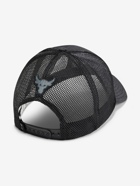 Kšiltovka Under Armour Project Rock Strength Trucker-Blk
