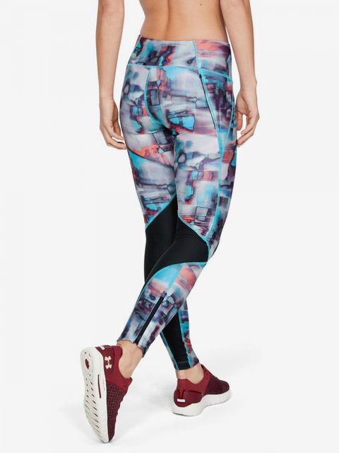 Kompresní legíny Under Armour Fly Fast Printed Tight-Blk
