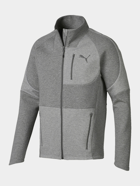 Bunda Puma Evostripe Move Jacket Medium Gray Heathe