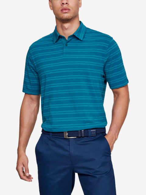Tričko Under Armour Cc Scramble Stripe-Grn