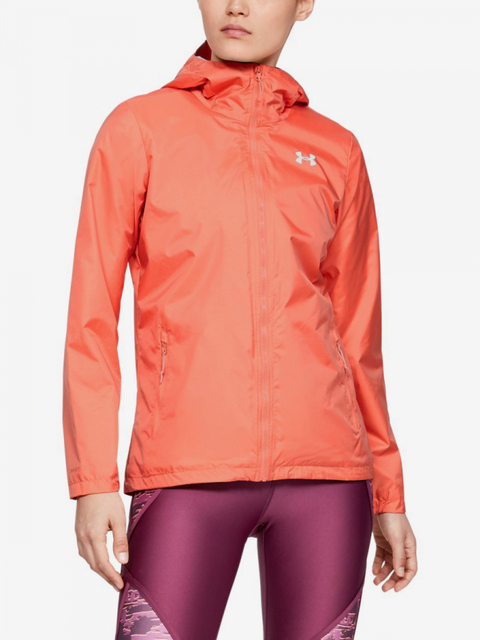 Bunda Under Armour Forefront Rain Jacket-Red