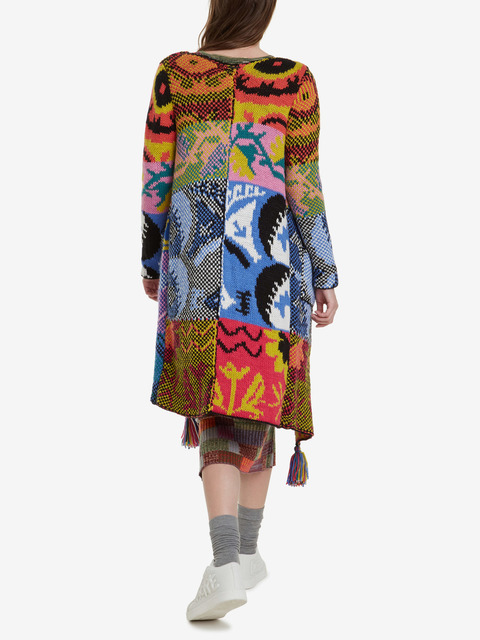 Svetr Desigual Jacket Houston