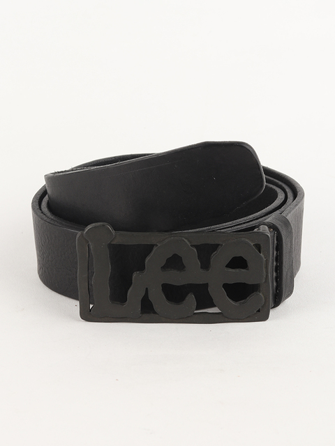 Pásek Lee Big Logo Belt Black