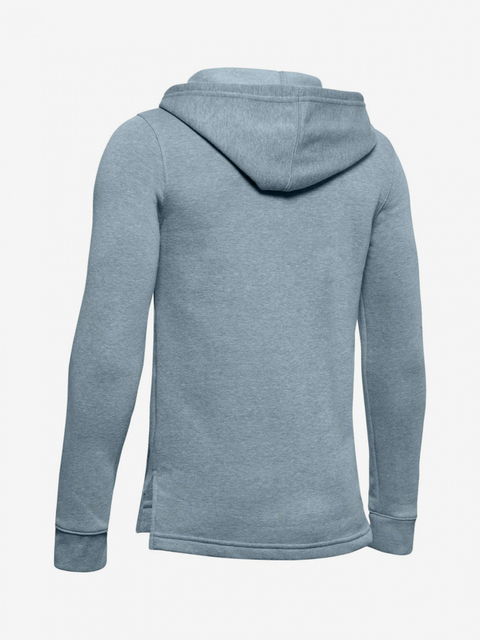 Mikina Under Armour Rival Full Zip Hoody-Gry